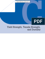 Yield Tensile Strength Ductility