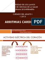 ARRITMIAS CARDÍACAS curso
