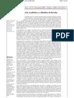A Miséria Acadêmica e a Dialética da Revolta - Nildo Viana
