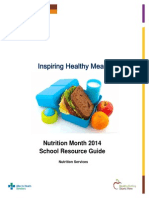 Nutrition Month 2014