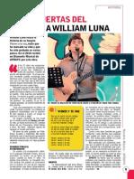 """Historia de """"Vienes y te vas"""" de William Luna"""