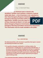 2014 Tier II Reporting