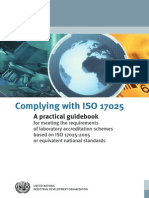 Complying With ISO 17025 - A Practical Guidebook