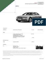 Audi A8 Lang 4.2 TDI Quattro