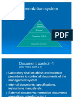 ISO-17025 Documentation System
