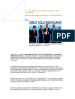 01-04-2014 Puebla Noticias - Gobierno de Puebla y Cruz Roja impulsarán mecanismos para mejorar los servicios médicos.