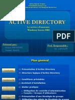 Active Directory-Le service d'annuaire