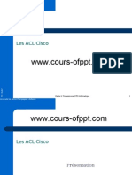 Cours ACLs Cisco