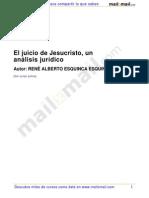 El Juicio Jesucristo Analisis Juridico 7622