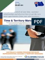 Time & Territory Management Seminar Australia - The Success Institute - Phone 1300-881-891