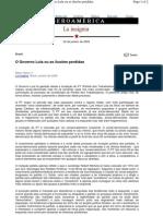 O Governo Lula e as Ilusões Perdidas - Nildo Viana