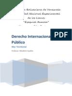 Trabajo Derecho Internacional Publico Mar Territorial (2)