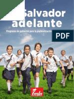 Programa de Gobierno El Salvador 2014 - 2019