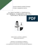 Bosco Barron Educacion a Distancia Mex 2008