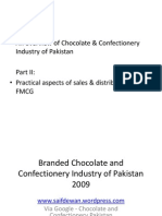 Overview of Chocolate confectioneries in Pakistan