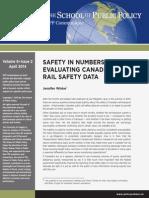 Winter Rail Safety Communique