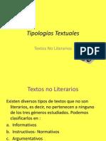 Tipos de Textos Carta, Informe Etc.