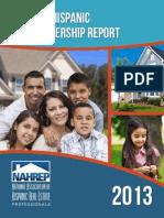 2013 State of Hispanic Homeownership Report