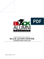 Black Alumni Constitution [2014]