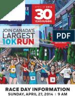 Sun Run 2014 Coupon Booklet