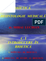 c. 1 Introducere in Bioetica