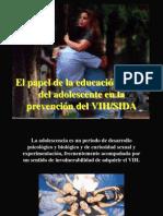 El papel de la educación sexual del adolescente