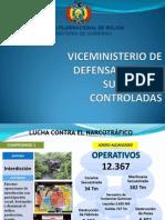 Viceministerio de Defenza Social y Sustancias Controladas