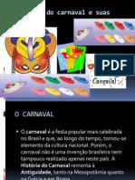 História do carnaval e suas origens