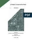 Friendship Heights Transportation Study 2003