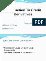 Credit Derivatives Final