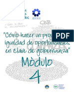Microsoft PowerPoint - Modulo IV de Gobernanza Local e Igualdad de Oportunidades[1]