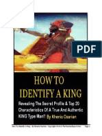 How 2 Identify a King