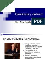 Demencia y Delirium