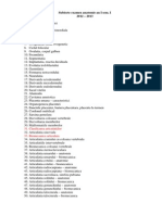 Subiecte Examen Anatomie an I Sem I 2012 - 2013