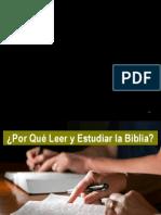 Por Quc3a9 Leer y Estudiar La Biblia