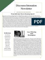 Discourse Intonation Newsletter4