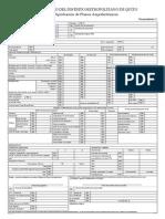 Formato Registro de Planos Arquitectura