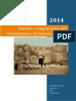 Estudio comparativo cristianismo, judaísmo e islam