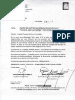 Invitacion Posesion Gobiernos Escolares