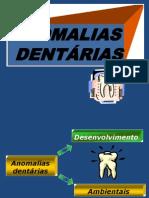 Anomalias Dentc3a1rias i e II