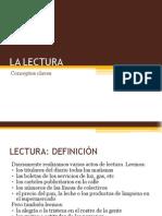 1. La Lectura