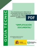 Guia Simpl if Icac i on Documental