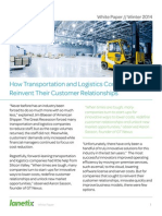 How Transportation and Logistics Companies can Reinvent Their Customer Relationships