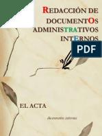 Documentos Administrativos INTERNOS