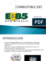 Combustible e85