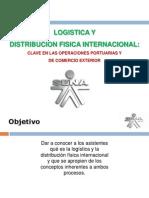 Los Costos Inernacional Logistica Aplicados a Los Incoterms