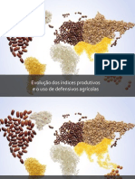 Evolução dos índices produtivos e o uso de defensivos agricolas