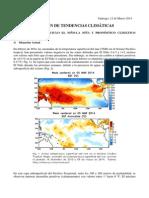 Boletin Tendencias Climaticas Marzo 2014