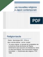 Nouvelles religions Japonaises (Shin Shûkyô)