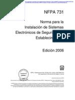 Nfpa 731 06e PDF